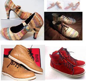 model sepatu, model flat shoes