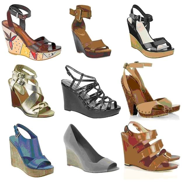 Sandal Wedges Fashion