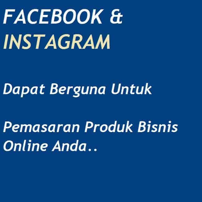 fb dan instagram