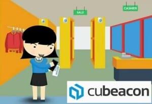 aplikasi untuk toko di mall hasil buatan perusahaan startup indonesia - cubeacon