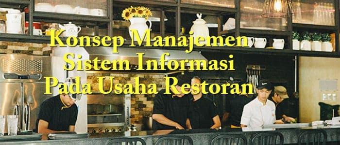 Konsep Manajemen Sistem Informasi Pada Usaha Restoran