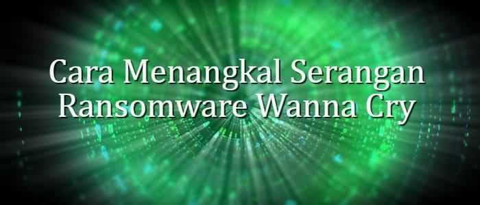 Cara Menangkal Serangan Ransomware Wanna Cry