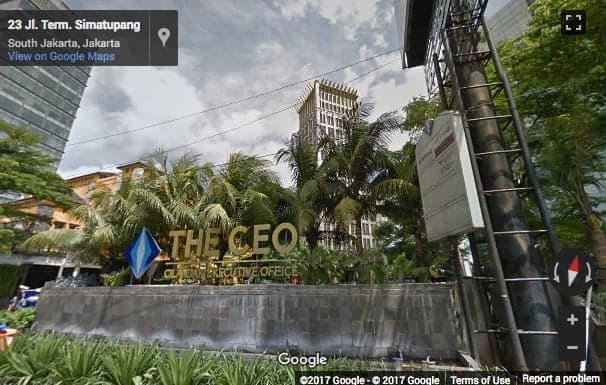 the ceo building tb simatupang