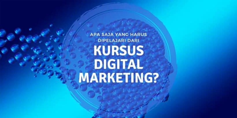 kursus digital markteing
