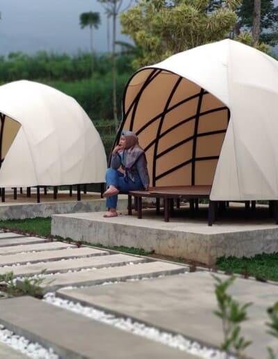 Tenda Glamping Omah Simbok