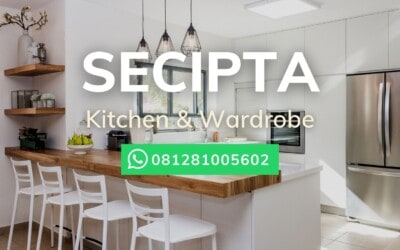 Jasa Kitchen Set Secipta