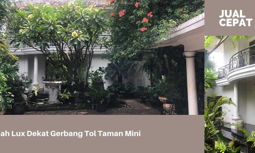 Jual Rumah Besar Lux di Dekat Taman Mini Indonesia Indah